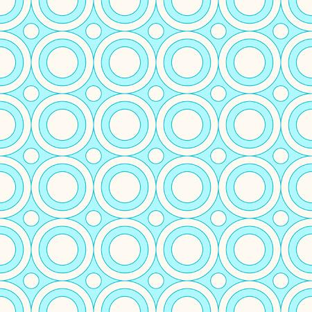 Seamless circles pattern