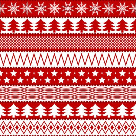Christmas seamless texture Vector