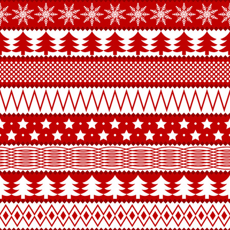 wrapping paper: Christmas seamless texture