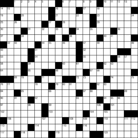 Crossword puzzle Vector