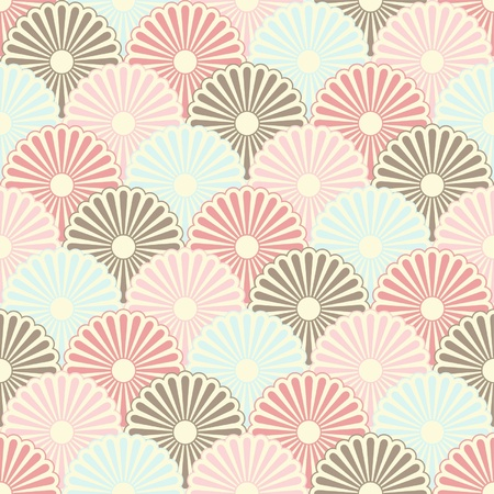 wallpaper pattern: Seamless japanese vintage pattern