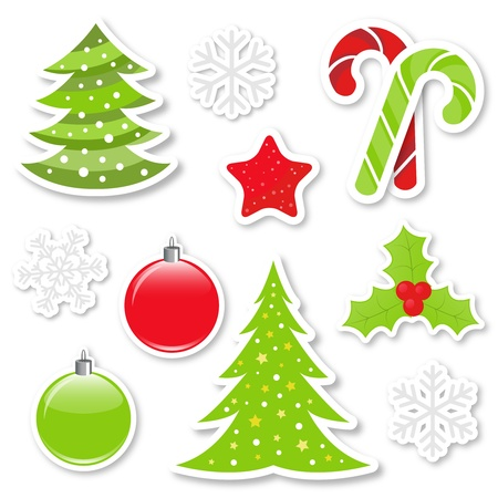 Christmas design elements collection Stock Vector - 11479111