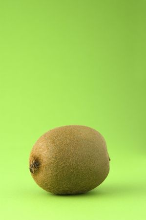 Kiwi against green backdrop photo