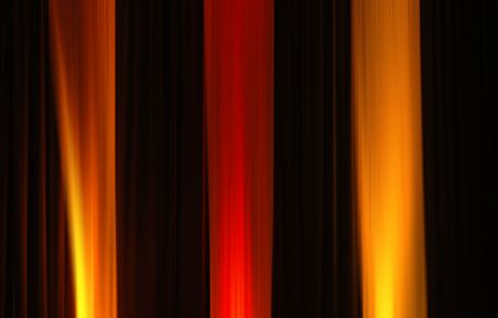 fine art: red and yellow abstract colourlines Stock Photo