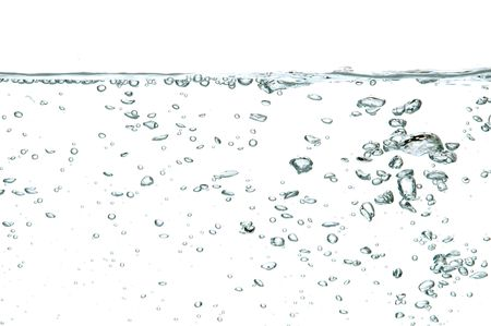 water bubbles isolated on white background Stock Photo - 753769