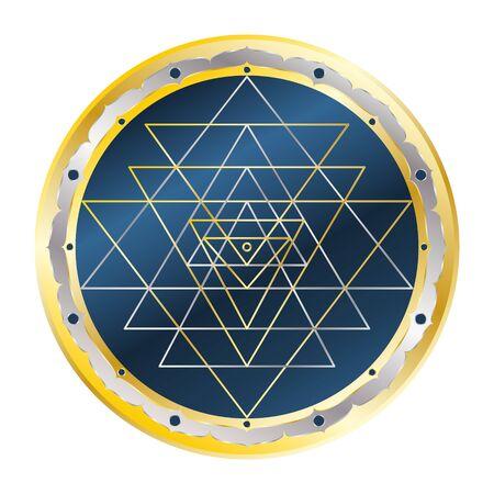 Sri Yantra, Sacred Geometry