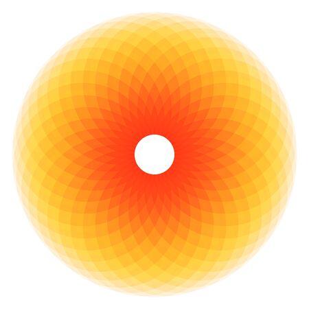 torus, sacred geometry, colorful Çizim
