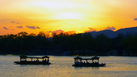 kunming: Winter sunset