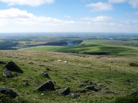 pembrokeshire: Preseli Hills Pembrokeshire 01 Stock Photo