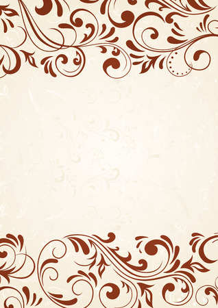Decorative template for text, illustration Stock Vector - 5737509