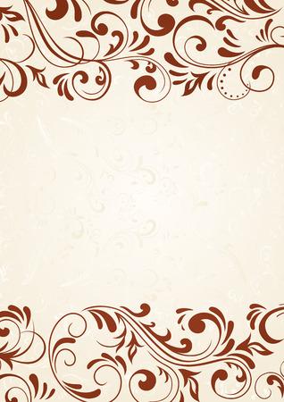 twirl: Plantilla decorativo para texto, ilustraci�n