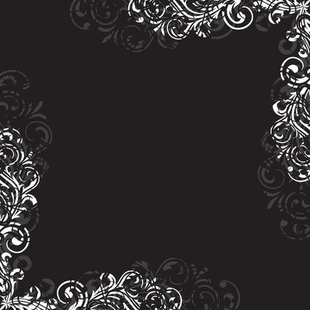 Decorative template grunge background, illustration Vector