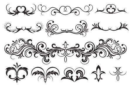 tracery: Ornate elements for decor, Illustration