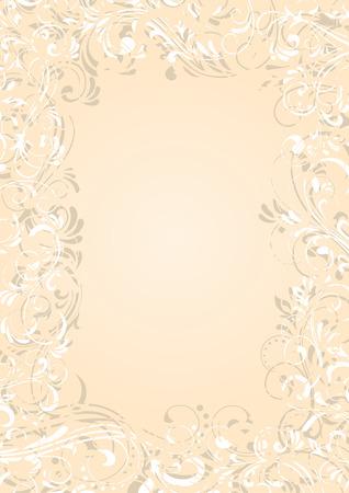 Decorative template grunge background, illustration Stock Vector - 6722332