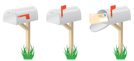 Set of the mailbox, illustration Stock Vector - 6722300