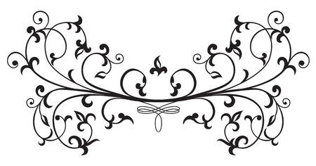 Ornate elements for decor, Illustration Vector