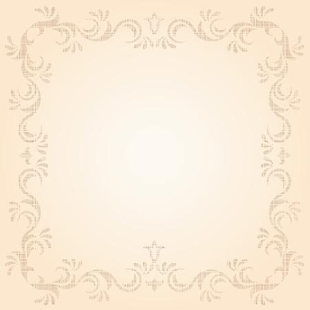 Decorative template grunge background, illustration Stock Vector - 7185098