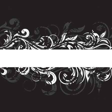 twirl: Fondo de grunge de plantilla decorativos, ilustraci�n