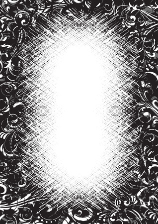 Decorative template grunge background, illustration Stock Vector - 7824999