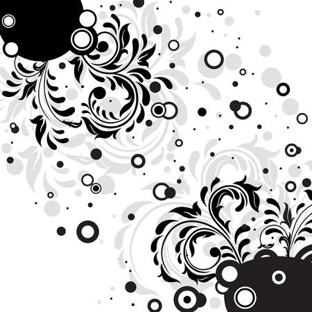 Decorative template grunge background, illustration Stock Vector - 7824968
