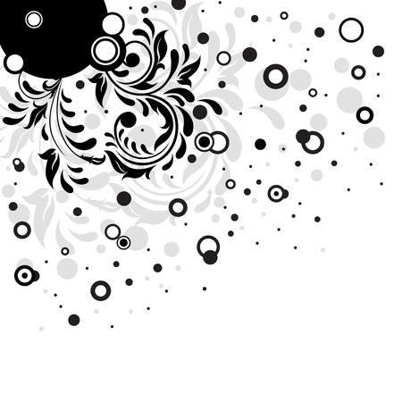 Decorative template grunge background, illustration Stock Vector - 7929864