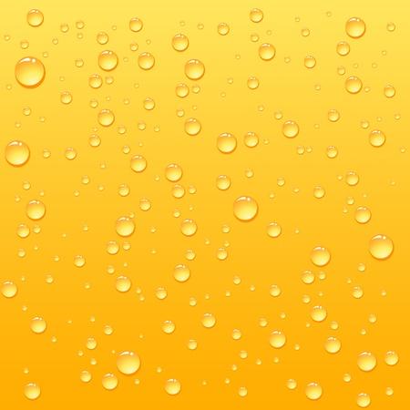 orange juice glass: Gocce di giallo su sfondo bevanda, illustrazione