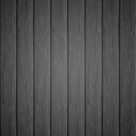 black boards: Black background with the texture of a old wooden boards, vintage floor from dark wood, illustration.