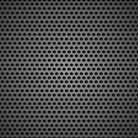 Abstract black speaker grill background, illustration.