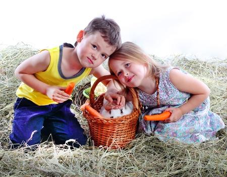 kids weaving: we have rabbit!