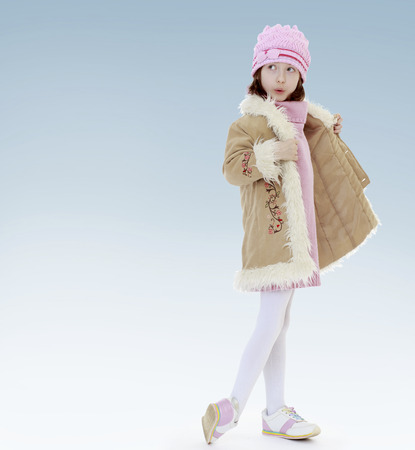 new year, warm clothing,happiness concept,happy childhood,carefree childhood,active lifestyle photo