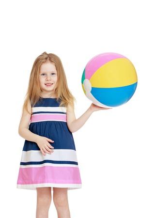 beach ball girl: