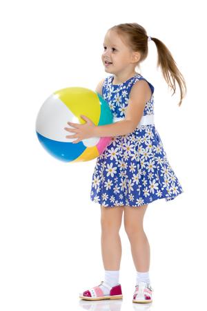 girl in ball