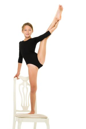 Equilibrium with a grip in the ring.The concept of childrens sp