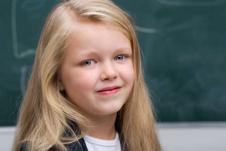 Close up portrait of beautiful girl