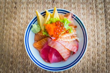 tekka: Tekka donburi  Japanese food Stock Photo