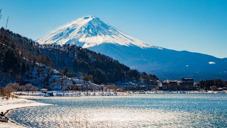 mt: MT. FUJI lake kawaguchiko