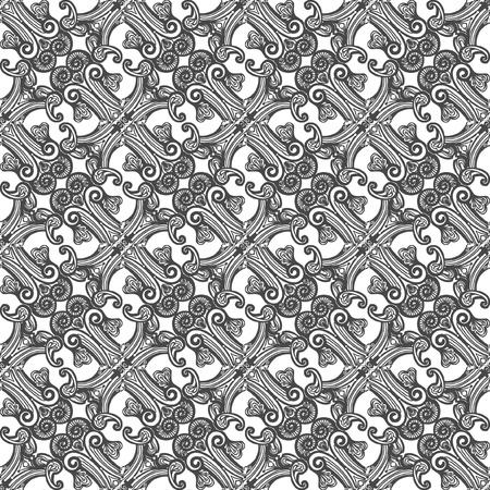Naadloos achtergrond patroon, doet organisch aan, zeer gedetailleerd Illustration