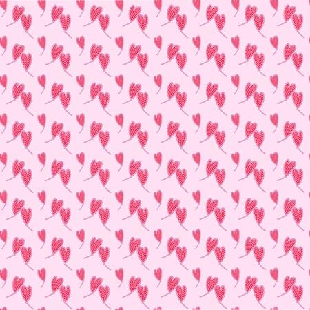Naadloos patroon van harten  zeer geschikt voor valentijns dag, hoofdkleur is roze Illustration