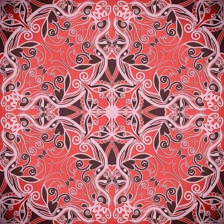 detailed tribal pattern, seamless