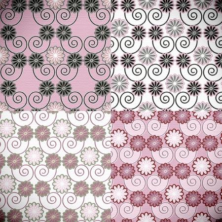 seamless pattern japanese style