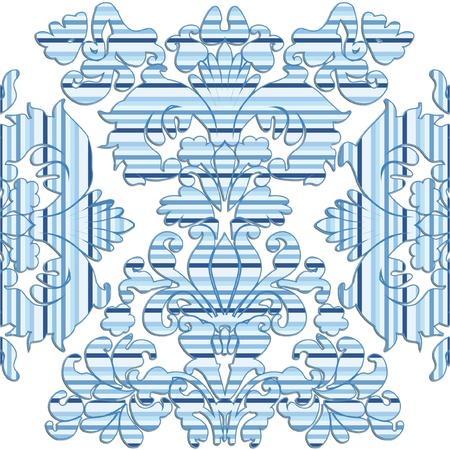 seamless pattern for modern wallpaper Illustration