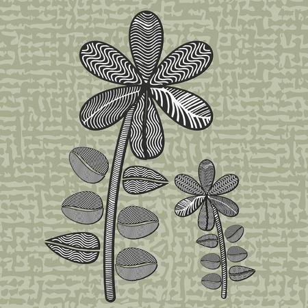 illustration of flowers Illustration