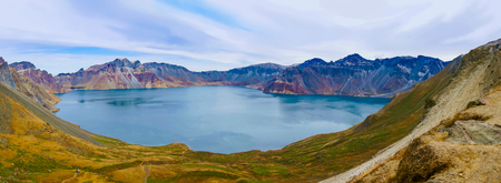 Changbai Mountain 스톡 콘텐츠
