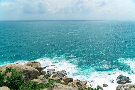 Sanya Wuzhizhou Island scenery 免版税图像