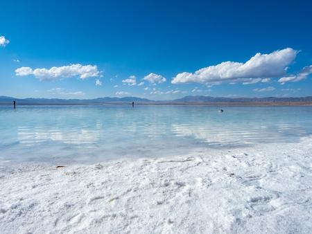 Chaka Salt Lake scenery 스톡 콘텐츠 - 114805096
