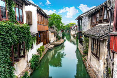 Zhouzhuang ancient Town scenery