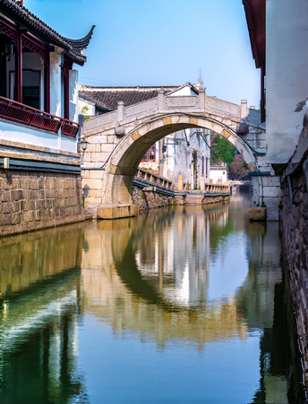 Suzhou Pingjiang Road Historic District 版權商用圖片 - 115991161