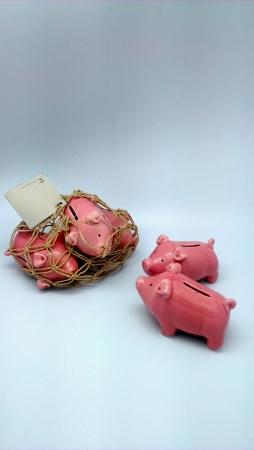 2 돼지 저금통을 서