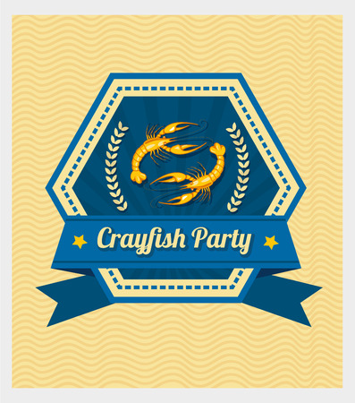 crayfish: Crayfish Party Illustration