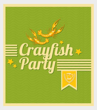 Crayfish Party  일러스트